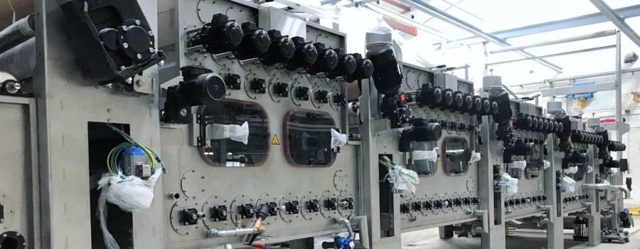 Sanders-Kauffmann nimmt neue Waschmaschine in Betrieb