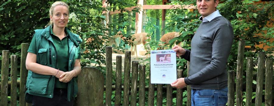 Gelebte Partnerschaft – Sanders-Kauffmann übernimmt Tierpatenschaft